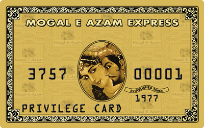 Privilege Card.