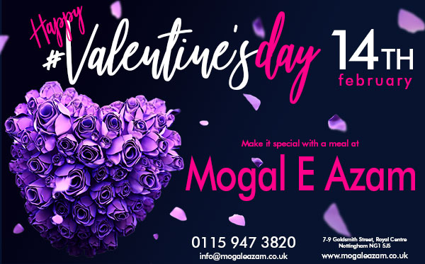 Valentines Day - Click to book!